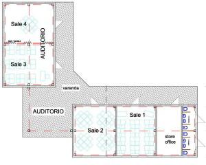 Begegnungszentrum Grundriss